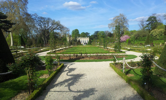 The Bagatelle rose garden, Paris